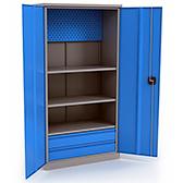 Шкафы металлические для одежды и инструмента