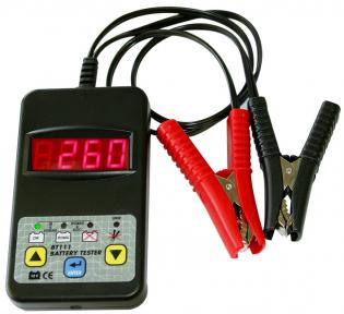Тестер электронный для  проверки аккумуляторов 12В от 20 до 150А/ч. GYS BT 111 DHC